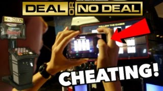 CHEATING AT DEAL OR NO DEAL ARCADE GAME!HACK 100% REAL! | JOYSTICK