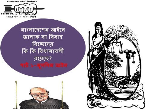 Divorce and Divorce Laws in Bangladesh l l Divorce under Muslim Law l l Part-1