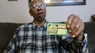 HE WON A MILLION DOLLARS!!😱LOTTERY TICKET PRANK!!!