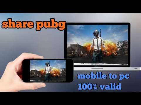 How To Share Pubg From Mobile To Laptop Software