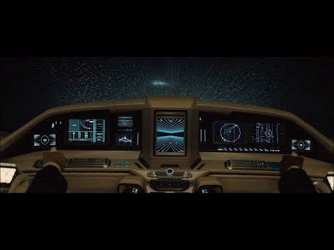 Blade Runner 2049 - Sea Wall Chase Scene (Flying Cars Gun Down) [HD]