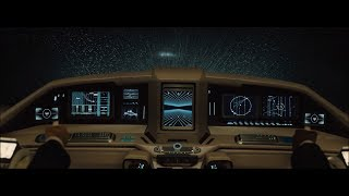 Blade Runner 2049 - Sea Wall Chase Scene (Flying Cars Gun Down) [HD] streaming