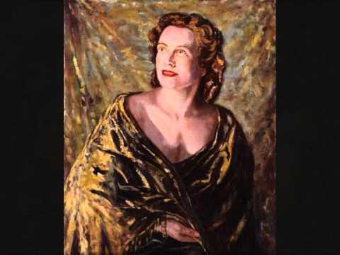 Kathleen Ferrier.LIVE OPERA PERFORMANCE.WHAT IS LIFE.AMSTERDAM.In Italian.