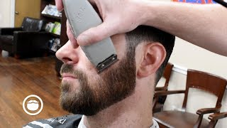 Pro Barber Teaches How to Cut Hair and Trim Beard