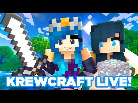 Krewcraft LIVE! w/ ItsFunneh