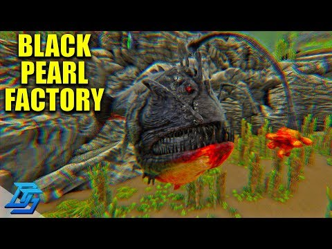 CONFLAGRANT ANGLER FISH, BLACK PEARL FACTORY! - Ark Survival Evolved - Pugnacia - Pt.19 (Ark Modded)