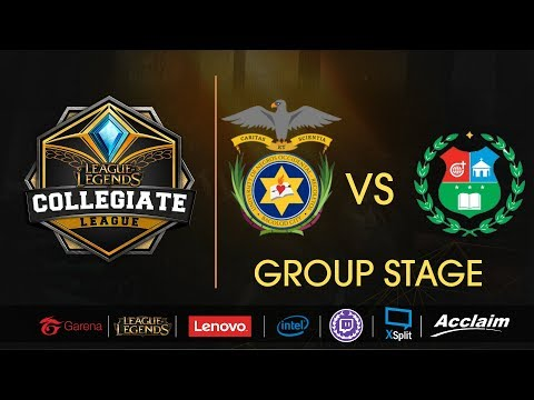 University of Negros Occidental vs University of San Carlos  - LoL Collegiate League Summer 2017