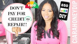 How To Get a PERFECT Credit Score in 2019 | CREDIT REPAIR SECRETS THAT WORK!
