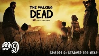The Walking Dead - Episode 2 - Gameplay Walkthrough - Part 9 - BEHIND CLOSED DOORS (Xbox 360/PS3/PC)