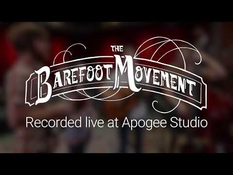 """The Barefoot Movement perform """"Lonely Mississippi Blues"""" at Apogee Studio - Recorded with Apogee ONE"""