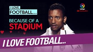vuclip I love football because... Nani, Valencia CF player