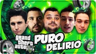 GTA 5 Online : Puro Delirio !! w/Anima,CiccioGamer89,Dread,Rohn !
