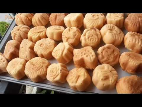 Bánh Bông Lan Nướng Than Truyền thống Miền Tâygiòn ngoài bên trong mền ngon |Bếp Nhà Dieu Nguyen