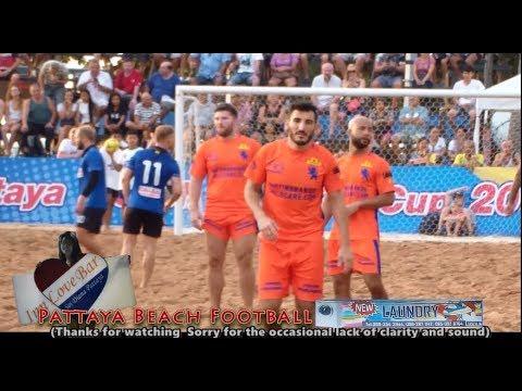 13th Pattaya Beach Football Cup Holland 5 - 3 Russia