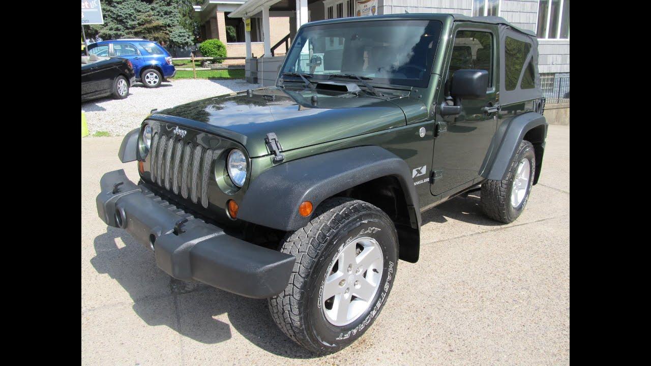 2007 jeep wrangler x 4x4 elite auto outlet bridgeport ohio - youtube
