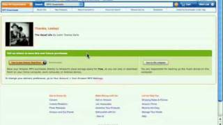 Amazon MP3  Getting started