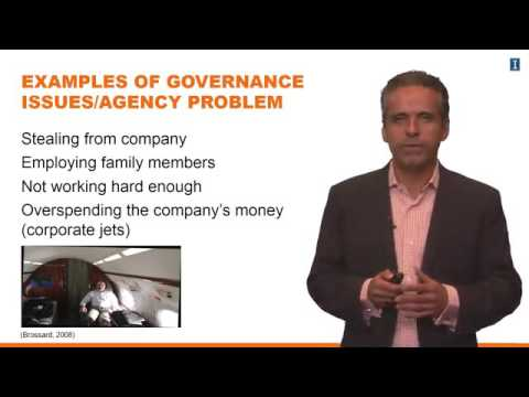 Lesson 1 4 The Agency Problem and Corporate Governance