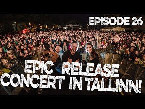 EPIC RELEASE CONCERT IN TALLINN! | VLOG Ep 26