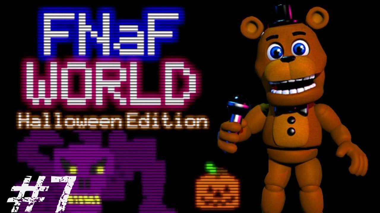 fnaf world | kenai în lumea de halloween [ep.7] - youtube