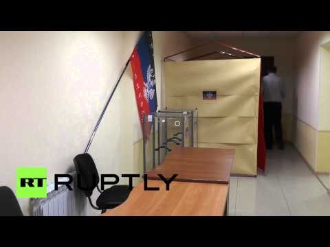 Ukraine: Polling stations ready for Donetsk referendum