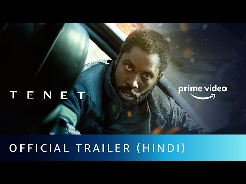 Tenet - Official Trailer (Hindi)   Christopher Nolan  John D. Washington, Robert Pattinson