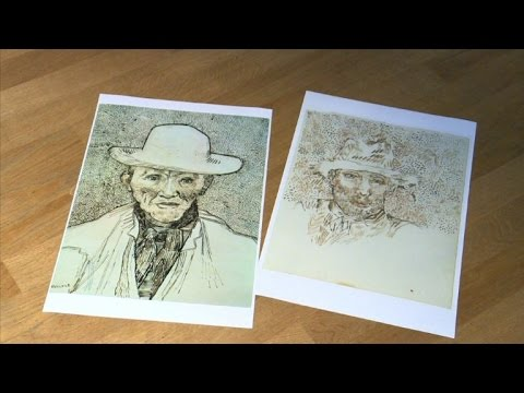 Van Gogh Museum experts say new notebook is an imitation