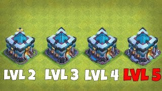 "ALL TH13 LEVEL COMPARISION!!  ""Clash Of Clans"" NEW XMAS UPDATE!"