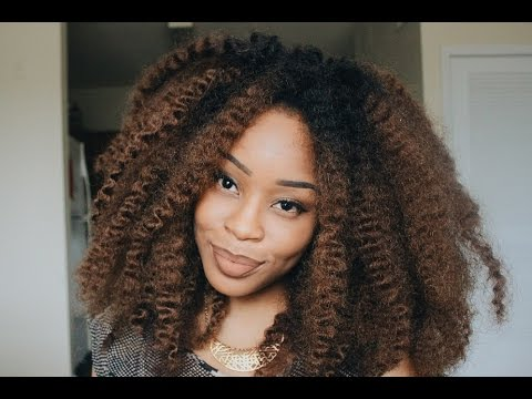 Quick Crochet Hair : Quick & Easy OmbrE Crochet Braid Wig Tutorial Durban Twist ...