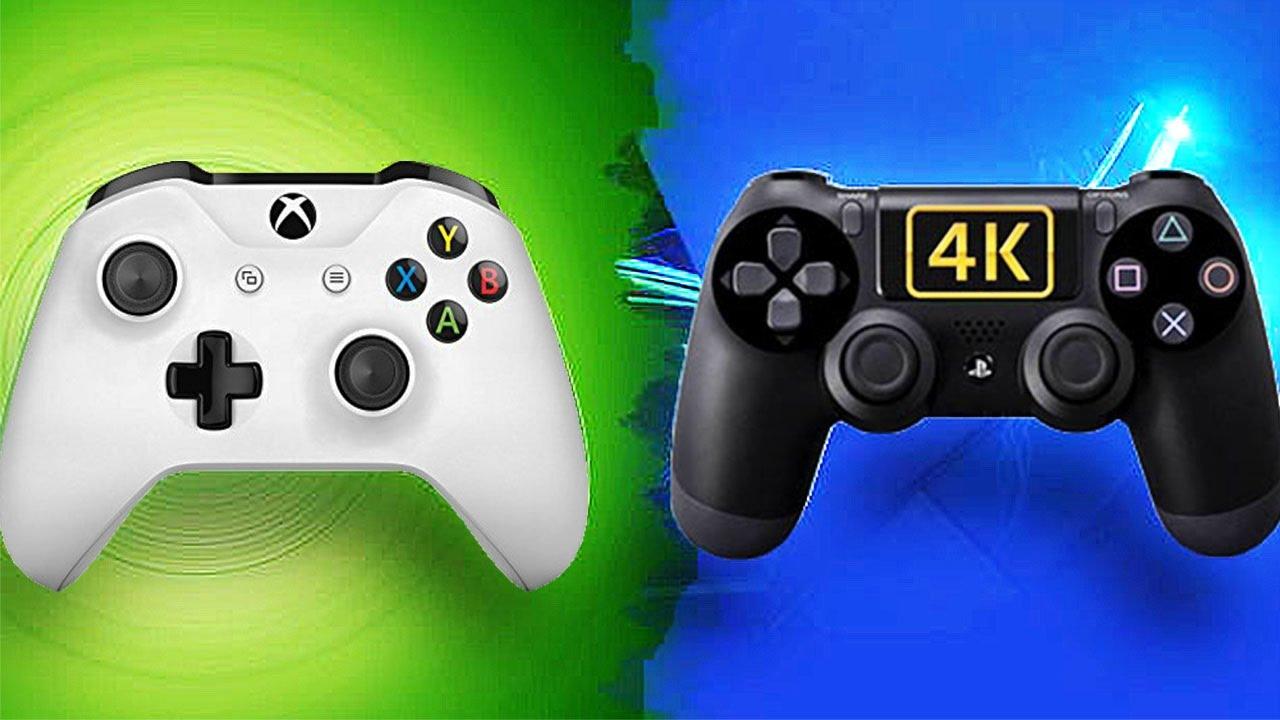 PS4 Pro VS. Xbox One S : qui a la MEILLEURE 4K ? - YouTube