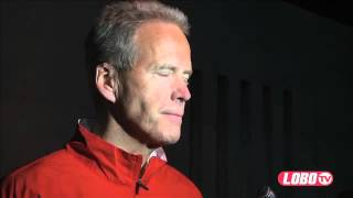 2012 Lobo Football | Coach Bob Davie: Spring Football Post-Practice Interview