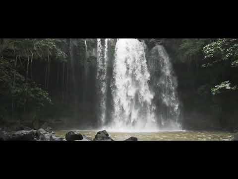 Hainan Juren Waterfall, Ling Gao County, Hainan Island, China