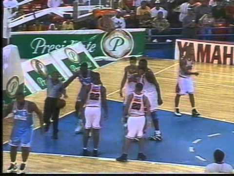 LOS MINA vs LOS PRADOS -Basketball 1998   (1era parte)