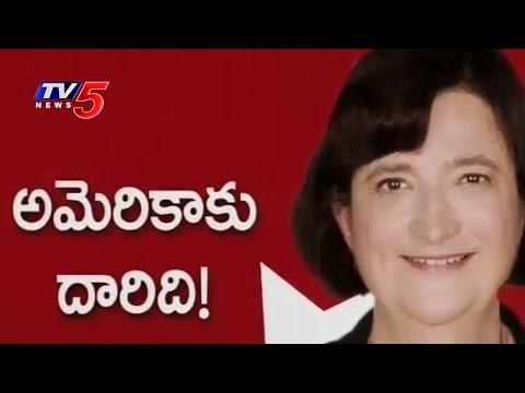U.S. Consulate General Katherine B. Hadda Exclusive Interview | H-1B Visa | Telugu News | TV5 News