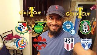 🇲🇽🇭🇳🇵🇦🇨🇷 2017 CONCACAF GOLD CUP/COPA ORO QUARTER FINALS PREDICTION 🇨🇦🇯🇲🇺🇸🇸🇻