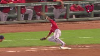 WSH@SF: Nats combine for a phenomenal play in the 7th