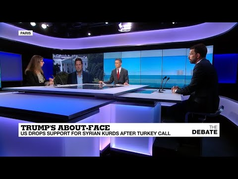 Trump's about-face: US drops support for Syrian Kurds after Turkey call