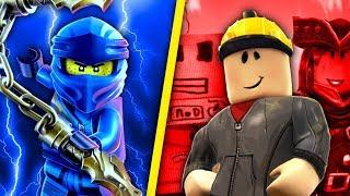 LEGO NINJAGO vs ROBLOX