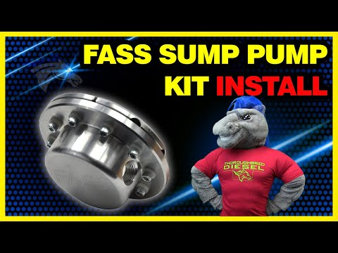 FASS Sump Pump Kit Install: Eliminate 1/4 Fuel Tank Issue #STK-5500