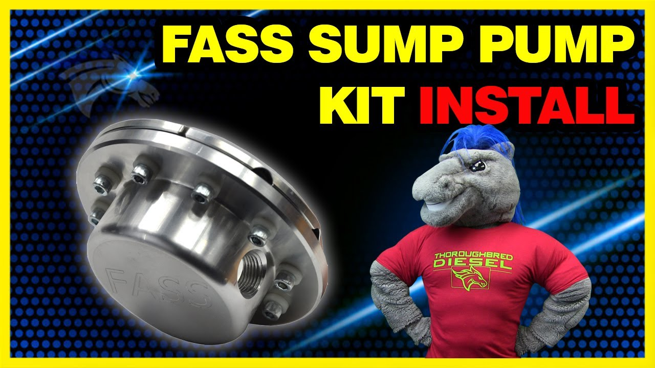 FASS Sump Pump Kit Install: Eliminate 1/4 Fuel Tank Issue #STK-5500
