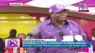 I will create a list for 2022, ignore those who go to Ruto - Francis Atwoli