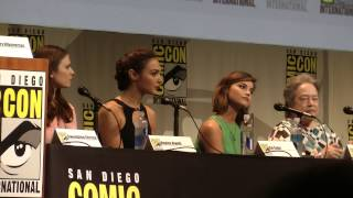 Women Who Kick Ass - full panel from Comic-Con 2015 Gwendoline Christie Hayley Atwell Gal Gadot