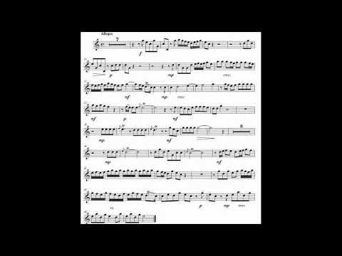 ♫♬ G. Torelli - Concerto in D Major for Trumpet I. Allegro [Piano Accompaniment]
