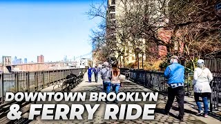 NYC LIVE Exploring Downtown Brooklyn, Ferry Ride, and Soundview, Bronx (March 21, 2021)