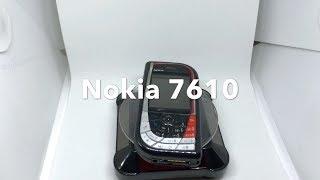 Nokia 7610 - Black/red (Unlocked), Retro Mobile Phone, Rare Phone, 100% Original