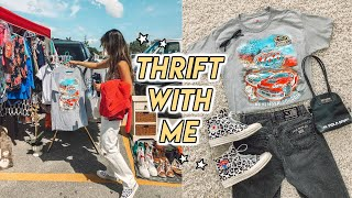 THRIFT WITH ME IN FLORIDA ☆ retro tee's, vintage jeans + more!