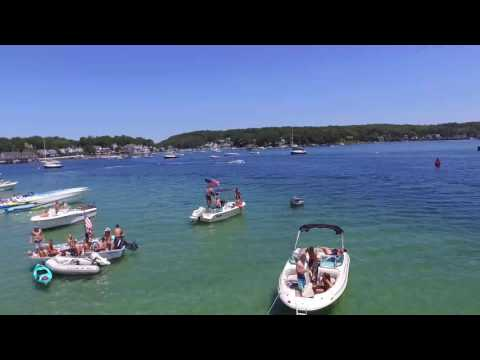 July 9th Party on the Annisquam River Gloucester MA
