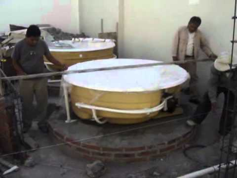 como instalar una tina de hidromasaje en una casa y nivelacion