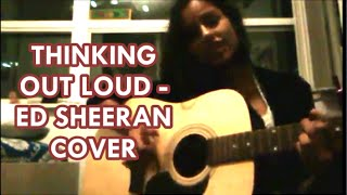 Thinking out loud - Ed Sheeran (Acoustic Cover)