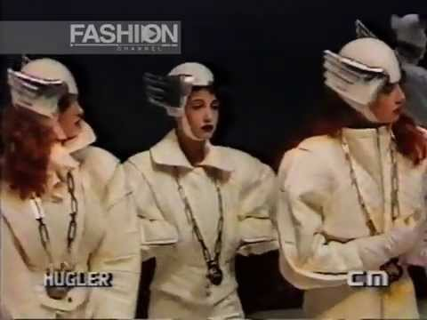 """Thierry Mugler"" Autumn Winter 1984 1985 Paris Pret a Porter Woman by Canale Moda"
