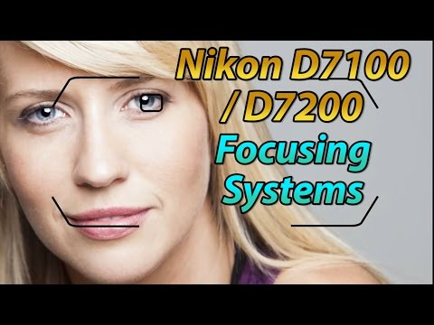 Nikon D7100 / D7200 Focus Square Tutorial | How to Focus Training Video
